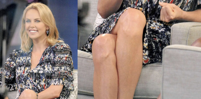 Charlize Theron Pantyhose   LEGS COOL